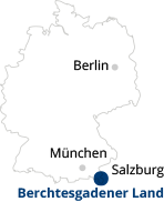 Karte Minimap Deutschland